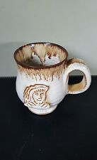 Studio Pottery Hand Thrown Jerry Harper  Blacktoft Mug with King's Head