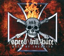 SPEED KILL HATE Acts Of Insanity SLIPCASE CD