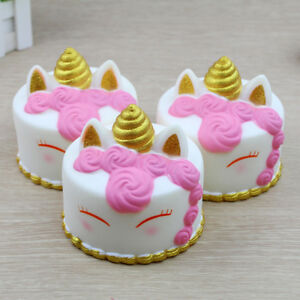 Jumbo Cartoon Cake Soft Slow Rising Cream Scented Stress Reliever Toys Cute