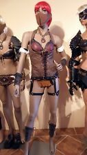 """Real Leather Fantasy Worrier Woman """"type 4"""" NEW Carnival Costume Drag Rio Outfit"""
