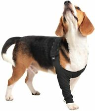 Suitical Recovery Sleeve Dog Small Colour Black Front Leg Protection Adjustable
