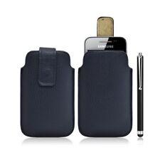 Housse coque étui pochette bleu pour Samsung Galaxy Ace S5830 + Stylet