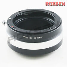 Nikon F mount AF-S G Lens to Micro 4/3 M43 Adapter as Kipon Olympus E-P5 GF6 G6