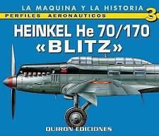 Heinkel He 70/170 Blitz by Quiron Ediciones (Paperback, 2007)