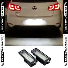 Volkswagen Golf MK6 GTI R Rear License LEDs Light Bright Xenon Canbus Error Free