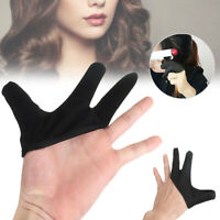 Hairdressing Finger Heat-Resistant Glove Hair Straightening Curling Styling Tool