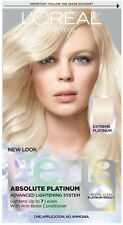 L'Oreal Feria Absolute Platinums Hair Color, Extreme Platinum 1 ea (Pack of 4)