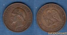 2nd Empire, 1852-1870 – 10 Centimes Satirique V 1854 A Paris Napoléon III