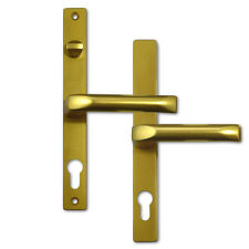 Hoppe 117/363M UPVC Lever Door Handles With Snib 68mm Centres Suits Fullex Gold