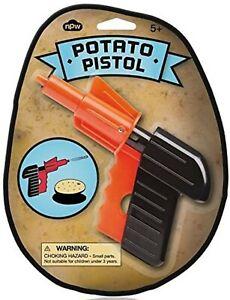 Kids Boys Girls Classic Retro Potato Spud Pistol Gun Toy Stocking Filler Gift
