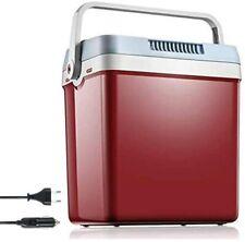 Tibek 12V Mini Fridge(Cooler) / Warmer with Automatic Locking Handle