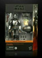 Star Wars The Black Series The Mandalorian & The Child Figures Grogu Din IN HAND