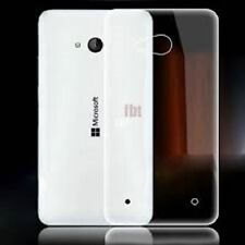 Nokia Lumia 535 N535 Transparent Clear Crystal Hard Back Shell Case Cover