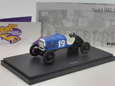 "Autocult 01008 # FORD A Rennwagen in blau-schwarz "" Juan Manuel Fangio "" 1:43"