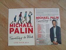 MICHAEL PALIN - Lovely colour tour flyer (Mint) MONTY PYTHON legend