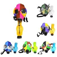 Gas Mask Bong Shisha Hookah Smoking pipe (black mask)(random bong)