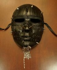 New Black Darkness Terror Spike Mask Halloween Party Mask