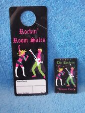 2010 Barbie Doll Convention Rockin Room Sales Door Hanger & Room Key