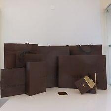 Lot 4 boites carton + 5 sacs papier LOUIS VUITTON Paris 1854 France