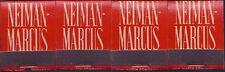Four Vintage Neiman Marcus, Dallas, TX, Lion Co. Midget Matchbooks, 14-Stick,