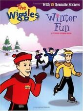 The Wiggles Winter Fun with 75 reusable Sticker storie book NEW like color forms
