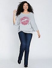 LANE BRYANT  Slim Boot Jean Embellished Pockets Melissa McCarthy Seven7 28W