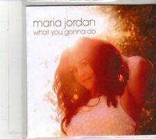 (DS102) Maria Jordan, What You Gonna Do - 2012 DJ CD
