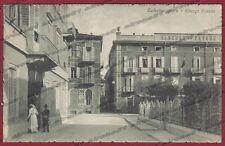 PARMA SALSOMAGGIORE TERME 142 HOTEL ALBERGO Cartolina viaggiata 1917