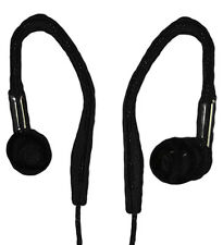 2 x IN OVER EAR EARPHONE HEADPHONE PAIR FOR IPOD IPAD MP3 TOUCH IPHONE 4 4S 5 UK