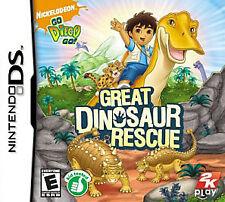 Go Diego Go: Great Dinosaur Rescue  DS DSi Game