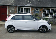 MG 3 ROOF RAILS MG3 MG  IN BLACK  FITS ALL MODELS NEW STYLISH FINISH- UK COMPANY