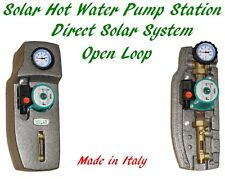 Solar Hot Water Pump Station for Open Loop Direct Water Solar Thermal System