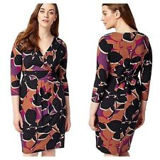Studio 8 by Phase 8 Size 16 Jenelle Wrap Front DRESS Evening Occasion £89 Xmas