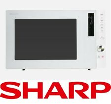 Sharp R820EW Smart Convection Fan Forced Grill Microwave Oven Touch and Dial