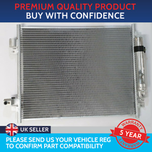 CONDENSER AIR CON RADIATOR TO FIT NISSAN NOTE E12 2012 ON 1.2 DIG-S 1.5 dCi