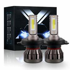 2 Bulbs H4 9003 Leds Headlights Kit 2600W 390000Lm High Low Beams 6000K Cree Hb2
