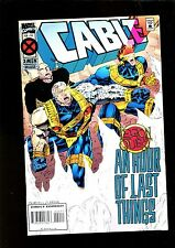 CABLE 20 (8.0) LEGION QUEST MARVEL (b010)
