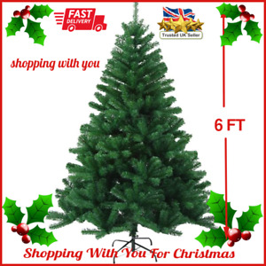 6 Foot Artificial Christmas Tree Green Xmas Tree with 700 Tips High End Quality