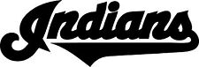 """Cleveland Indians Vinyl Decal """"Sticker"""" For Car or Truck Windows, Laptops, etc."""