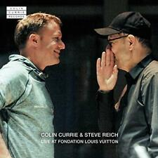 Colin Currie And Steve Reich - Live At Fondation Louis Vuitton (NEW CD)