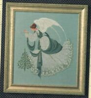 Ice Angel Lavender & Lace Cross Stitch Pattern Marilyn Leavitt Imblum L&L 22