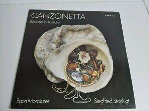 LP Canzonetta berühmte Violinstücke