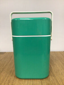 Retro Decor Australia 4 Bottle Green Wine/Drink Cooler - 1980's