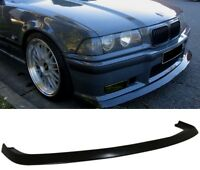 RS Splitter for BMW E36 front M bumper spoiler chin lip addon valance trim apron