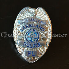 A2 Lakeland Police Public Safety Aide Florida State Lapel Pin