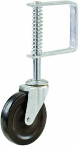 Shepherd 9785 Spring Loaded Gate Caster, 4-Inch, Black FREE SHIPPING