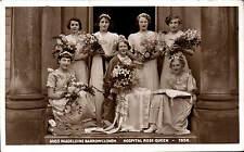 ? Derbyshire. Miss Madeleine Barrowclough, Hospital Rose Queen 1938.