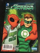 """Green Lantern#34 Incredible Condition 9.4(2014)""""Selfie""""Variant Cover"""