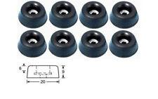 8 x Gummifüße/Gummifuß,20x9 mm, (0,36€/Stck.)  2,88 EUR,  AH 4903