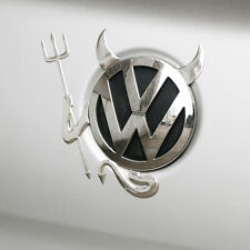 VW Devil Sticker Decal Volkswagen 3D Angel Emblem Car Styling Logo Trunk Cover